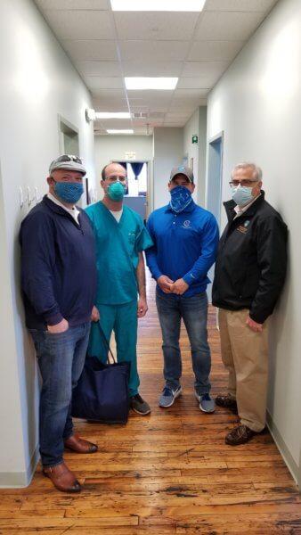 Amsterdam Oral Surgery Masks Donation