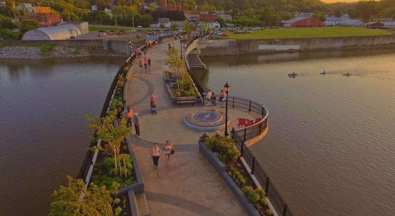 Montgomery County, New York- Mohawk Valley Gateway Overlook-Bridge